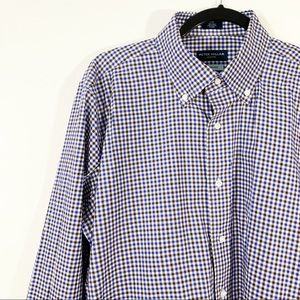 PETER MILLAR . Button Front Egyptian Cotton Shirt